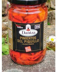 Piquillos (poivrons rouges) en lamelles 1ère qualité Pays Basque