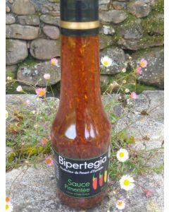 Sauce pimentée. Pays Basque