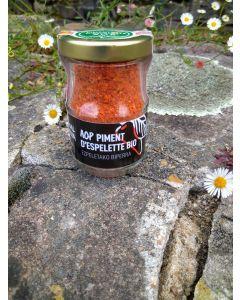 Piment d'Espelette AOP - produit artisanal bio du Pays Basque