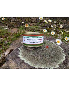 Rillettes pur canard au piment d'Espelette - Pays Basque