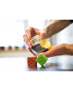 Savons parfum Cerise ou Pomme, fabrication Pays Basque