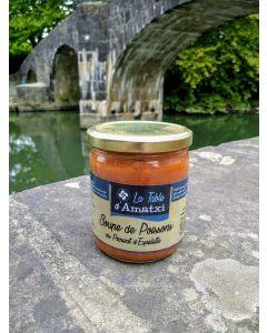 Soupe de poissons du Pays Basque au piment d'Espelette