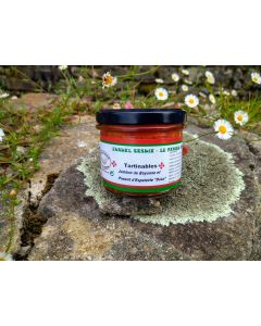 Tapenade jambon Bayonne au Piment d'Espelette-Douce  Pays basque