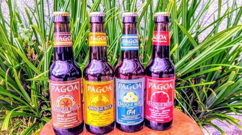 Bières artisanales PAGOA d'Oiartzun